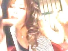 Incredible Japanese chick Miyu Sugiura in Exotic Stockings/Pansuto, Handjobs JAV scene