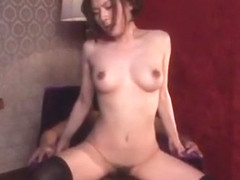 Crazy Japanese chick Yuzuka Kinoshita in Amazing Doggy Style JAV clip