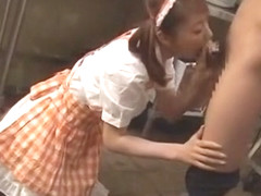 Incredible Japanese model in Exotic Blowjob/Fera, Teens JAV clip