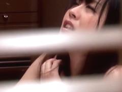 Hottest Japanese chick Nana Aoyama in Amazing close-up, blowjob JAV clip