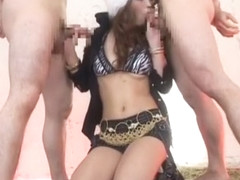 Amazing Japanese whore Mai Kitamura in Incredible Blowjob/Fera, Fetish JAV movie