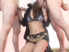 Amazing Japanese whore Mai Kitamura in Incredible Blowjob/Fera, Fetish JAV movie