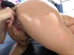 Hottest pornstar Sarah Shevon in Horny Fingering, Anal adult video