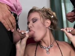 Crazy pornstar Brandy Smile in horny blonde, deep throat adult movie