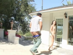 Amazing pornstar Tristan Berrimore in fabulous brazilian, college sex clip