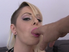 Crazy pornstar Nicole Malice in Best Blowjob, Blonde adult scene