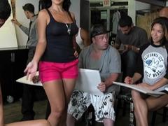 Horny pornstars Nicole Bexley, Rock Star, Melissa Moore in Hottest Big Tits, Threesomes adult movie