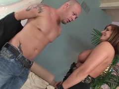 Fabulous pornstar Brooke Belle in hottest big tits, big cocks adult movie