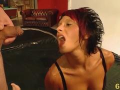 Incredible pornstar in Fabulous Gangbang, German sex scene