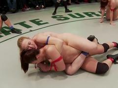 Round 2 Tag Team Bella Rossi, Mischa Brookes vs. Darling, Rilynn Rae