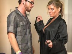 Hottest pornstar Dane Cross in Fabulous MILF, Massage xxx video