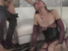 Crazy pornstars Sarah Shevon, James Deen in Horny Pornstars, Big Ass sex video