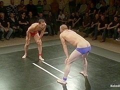 NakedKombat Intense Live Tag Team Match