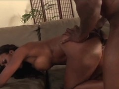 Black demon attacks luscious Nyomi Banxxx