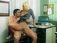 Lexi Swallow & Toni Ribas in Sex and Corruption 2, Scene 5