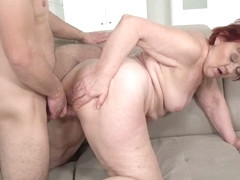 Marsha in Redheaded Granny Wants Some Cock - 21Sextreme