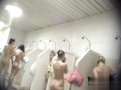 Hidden cameras in public pool showers 891