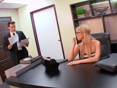 Victoria White slammed in her office