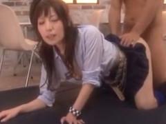 Horny Japanese chick Lemon Tachibana in Best Facial, Rimming JAV movie