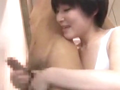 Crazy Japanese slut Chiharu Nakai, Yuri Kashiwaga, Emiri Momoka in Horny Cumshots JAV movie