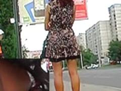 Diminutive strap up petticoat of pleasing suit