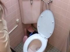 Free voyeur sex cam spies frisky teen in orgasm on the bowl