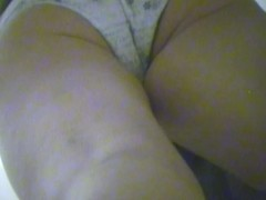 The fresh butt sexily teases on changing room spy cam