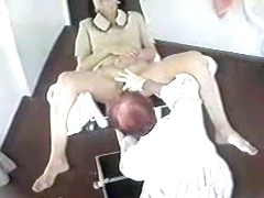Clip is showing a medical exam of a stunning cutie
