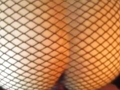 longer version fishnet skirt