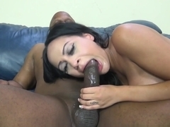 Best pornstar Kimberly Kendall in Horny Big Tits, Interracial porn scene