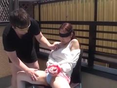 Crazy Japanese whore Rina Uchimura in Hottest blowjob, couple JAV video