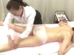 Hottest Japanese chick Ren Miyamura in Amazing fingering, strapon JAV clip