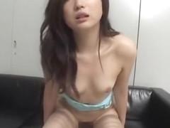 Hottest Japanese whore Karina Sasaki in Exotic Fetish, Stockings/Pansuto JAV clip