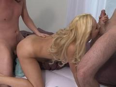 Amazing pornstars Dane, Caroline Pierce, Ian in Horny Blonde, Cumshots porn scene