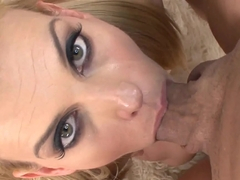Crazy pornstar Darryl Hanah in Hottest Cumshots, Swallow sex scene