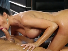 Horny pornstars Jasmine Jae, Marcus London in Hottest Cumshots, Massage adult scene