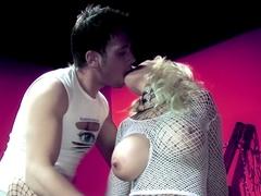 Fabulous pornstar in incredible anal, blonde adult video