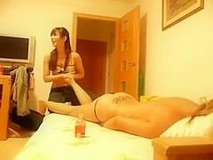 lesbian love massage