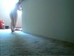 My webcams amateur porn clip shows me jilling off
