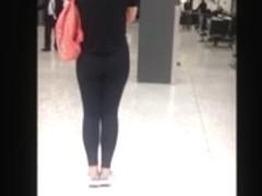 Assorted hidden camera videos of phat ass's