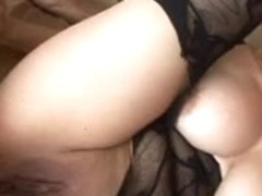 Michelle Honey Bodysuit Gets Double Teamed by Monster Cocks