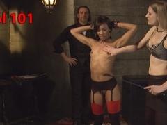 Best fetish, public sex video with hottest pornstars Maestro Stefanos, Nikki Darling and Shay Tizi.