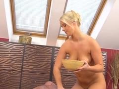 round ass slippery massage