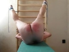 Spanking that round bubble butt