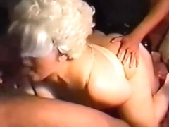 helping bring her slut out to play :)  His wife is a good sub slut