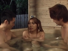 Horny Japanese girl Iroha Suzumura in Best JAV uncensored Outdoor scene