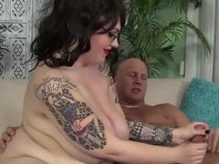 Exotic pornstar Marilyn Mayson in horny lingerie, facial xxx video