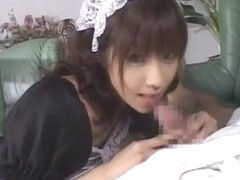 Hottest Japanese girl in Horny Cunnilingus, Doggy Style JAV video