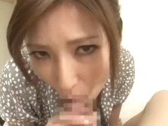 Amazing Japanese girl Yuna Shiina in Incredible Blowjob/Fera JAV scene