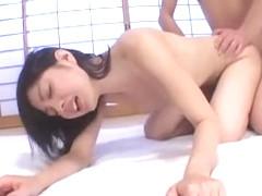 Horny Japanese girl Nana Nanaumi in Best Cunnilingus JAV clip